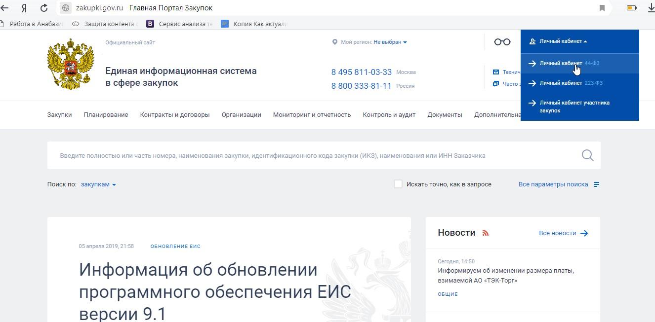Регистрация ооо в еис 223 фз пошаговая инструкция начальная бухгалтерия